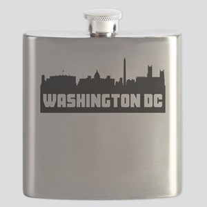 Washington DC Skyline Flask
