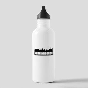 Washington DC Skyline Water Bottle