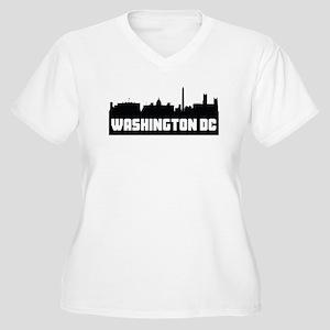 Washington DC Skyline Plus Size T-Shirt