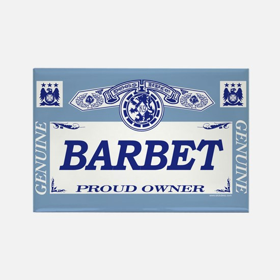 BARBET Rectangle Magnet