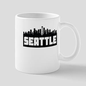 Seattle Washington Skyline Mugs