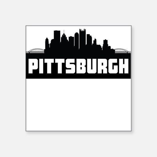 Pittsburgh Pennsylvania Skyline Sticker
