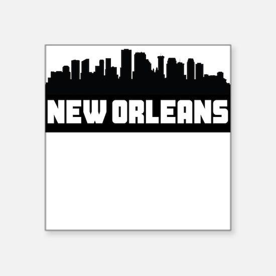 New Orleans Louisiana Skyline Sticker