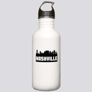 Nashville Tennessee Skyline Water Bottle