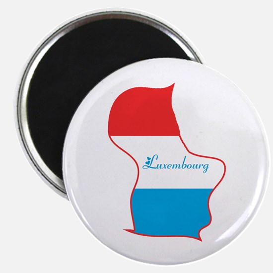 Cool Luxembourg Magnet