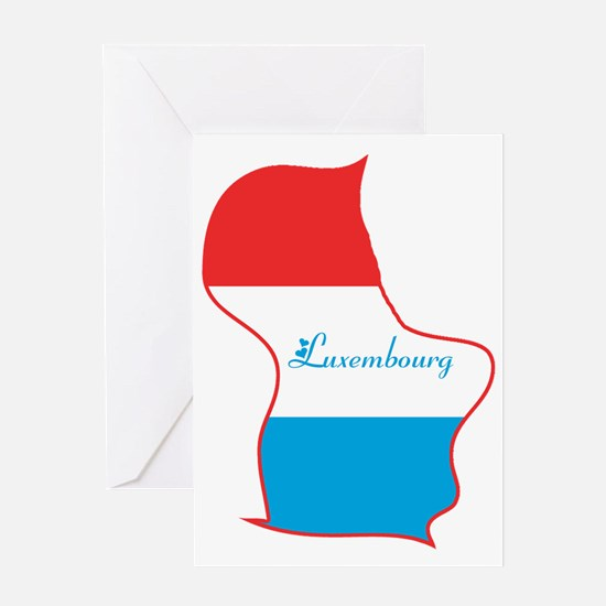 Cool Luxembourg Greeting Card