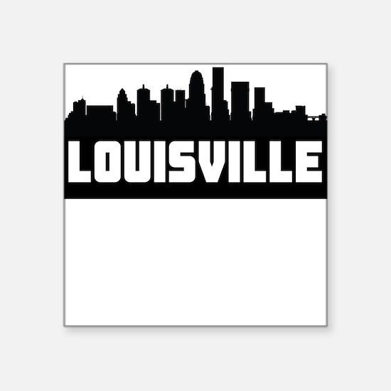 Louisville Kentucky Skyline Sticker