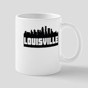Louisville Kentucky Skyline Mugs