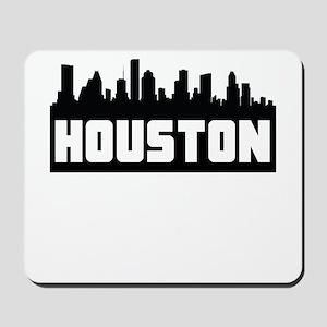 Houston Texas Skyline Mousepad