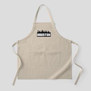 Houston Texas Skyline Apron