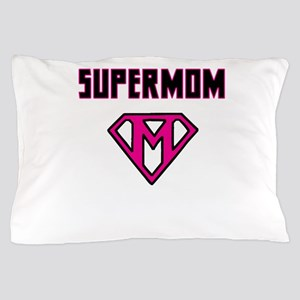 Supermom with Emblem Pillow Case
