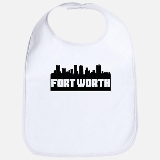 Fort Worth Texas Skyline Bib