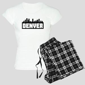 Denver Colorado Skyline Pajamas