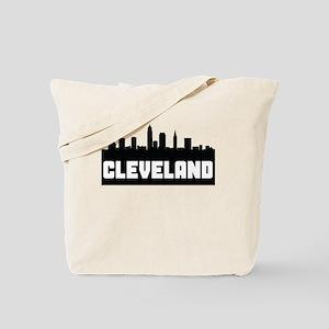 Cleveland Ohio Skyline Tote Bag