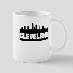 Cleveland Ohio Skyline Mugs