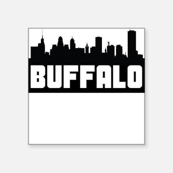 Buffalo Silhouette Bumper Stickers CafePress - Custom vinyl decals buffalo ny