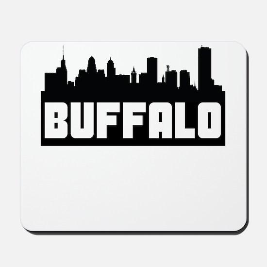 Buffalo New York Skyline Mousepad