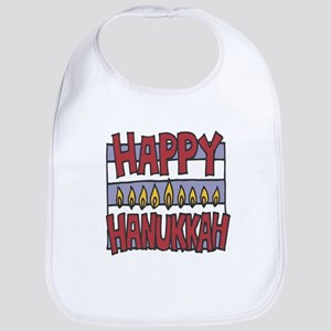 Happy Hanukkah Bib
