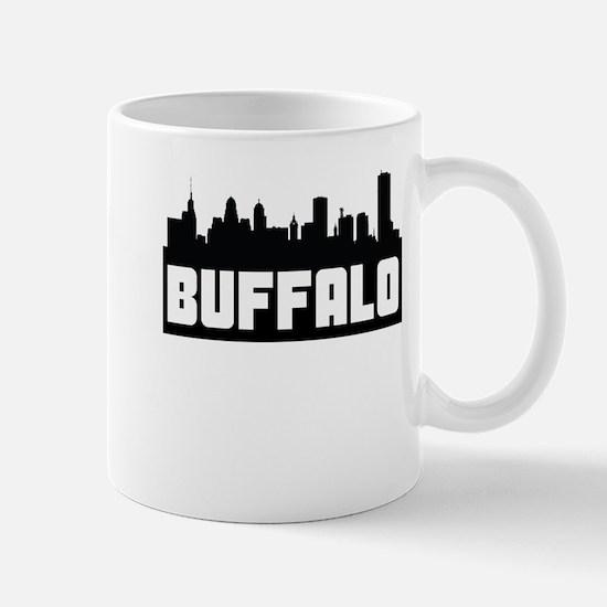 Buffalo New York Skyline Mugs