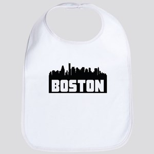 Boston Massachusetts Skyline Bib