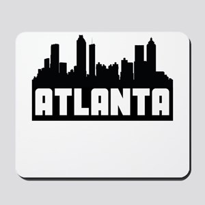 Atlanta Georgia Skyline Mousepad