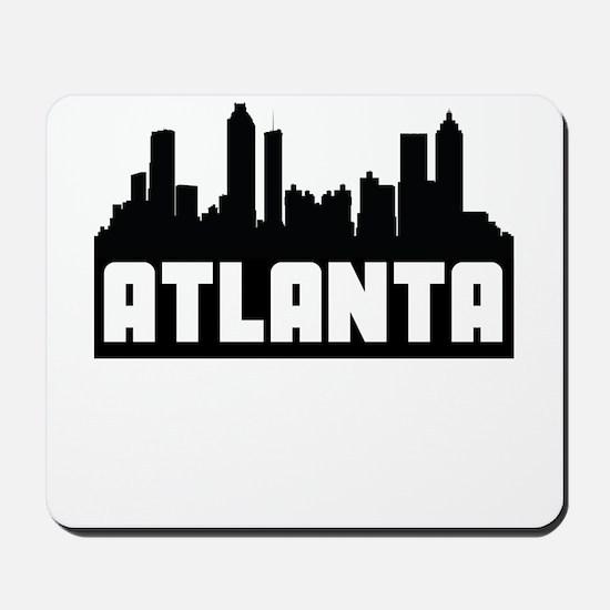 Atlanta Georgia Skyline Mousepad