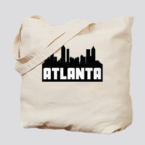 Atlanta Georgia Skyline Tote Bag