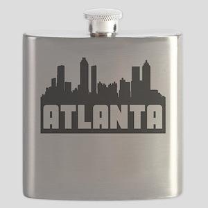 Atlanta Georgia Skyline Flask