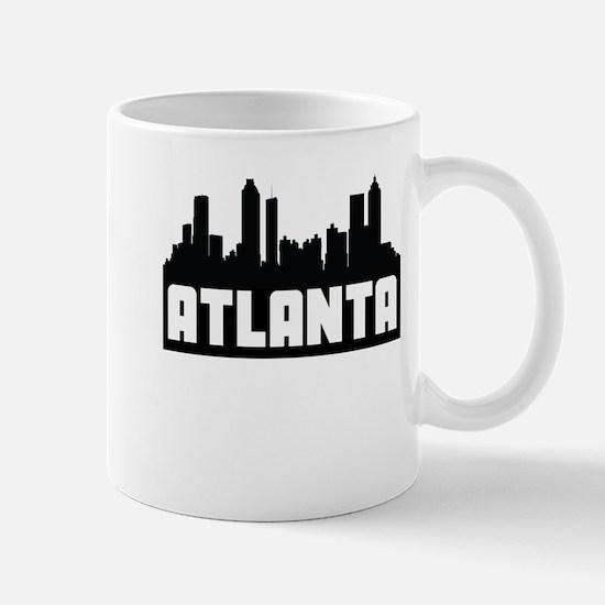 Atlanta Georgia Skyline Mugs