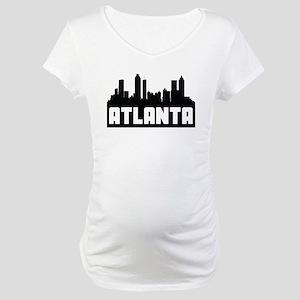 Atlanta Georgia Skyline Maternity T-Shirt