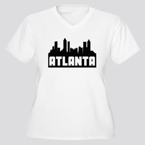 Atlanta Georgia Skyline Plus Size T-Shirt