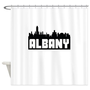 Cityscape New York Shower Curtains