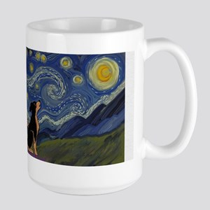 Starry ES Black&Tan Mugs