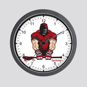 Ultimate Lacrosse Wall Clock