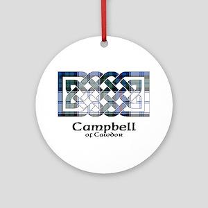 Knot-CampbellCawdor dress Round Ornament