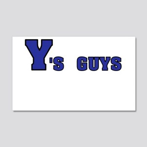 Y's GUYS Wall Decal