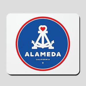 I Love Alameda Mousepad