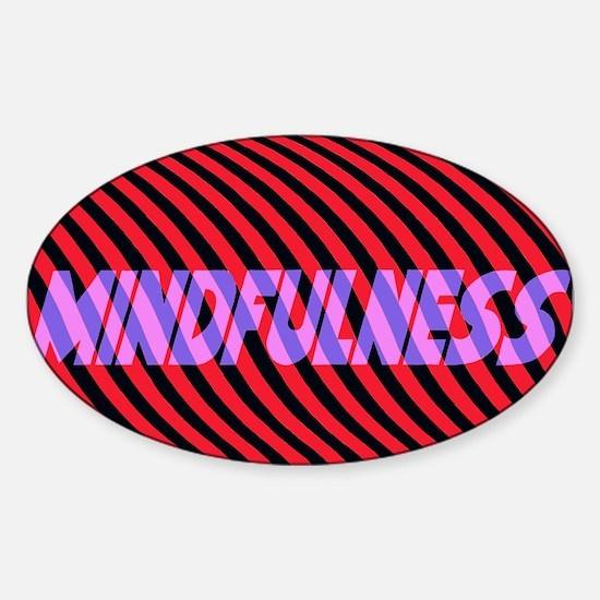 Mindfulness (rpb) Sticker (Oval)