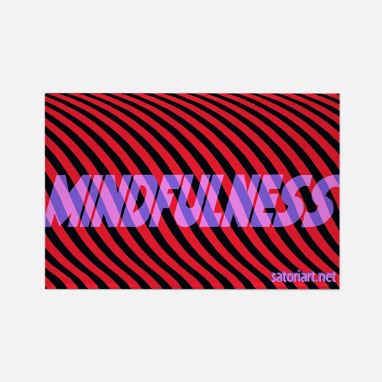 Mindfulness (rpb) Rectangle Magnet