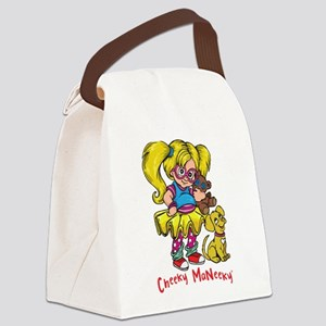 Cheeky MaNeeky Canvas Lunch Bag