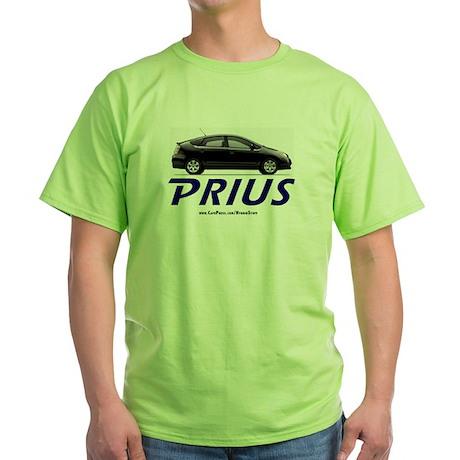 PRIUS OWNER GIFT BLACK PRIUS Green Shirt GIFT!