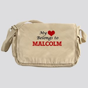My heart belongs to Malcolm Messenger Bag