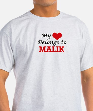My heart belongs to Malik T-Shirt