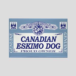 CANADIAN ESKIMO DOG Rectangle Magnet
