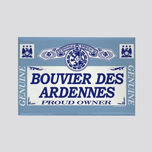 BOUVIER DES ARDENNES Rectangle Magnet