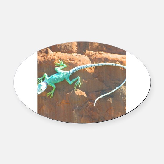 Cute Amy brown Oval Car Magnet
