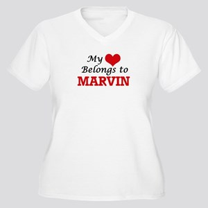 My heart belongs to Marvin Plus Size T-Shirt