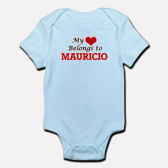 My heart belongs to Mauricio Body Suit