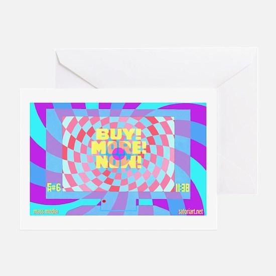 Mass Media #1 Greeting Card