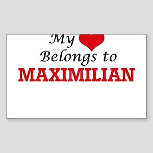 My heart belongs to Maximilian Sticker